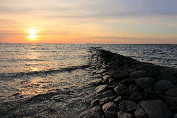 Seebestattung, Trauer, Abschied, Konzept Todesanzeigen